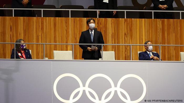 Японський імператор Нарухіто відкрив Олімпіаду