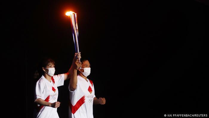 Ceremonia inaugural de los Juegos Olímpicos de Tokio 2020.