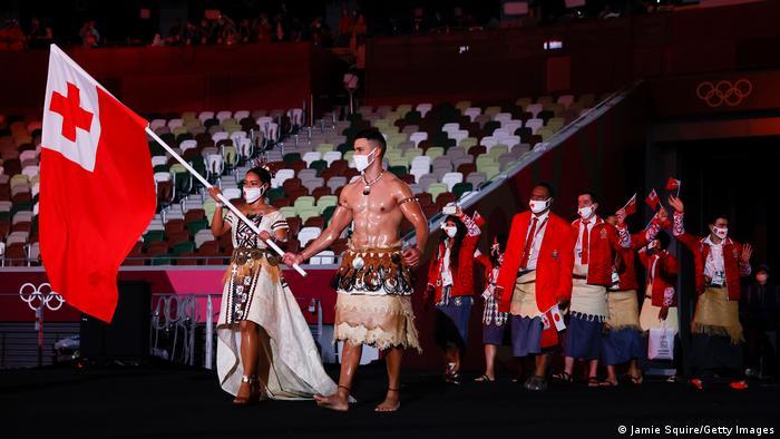 Eröffnungsfeier Olympische Spiele Tokio 2020 - Tonga
