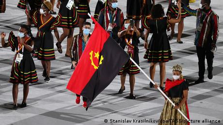 Angola - Tokyo Olympics Opening Ceremony