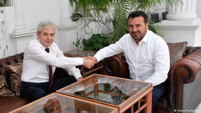 Nord-Mazedonien | Zoran Zaev (SDSM) und Ali Ahmeti (DUI)