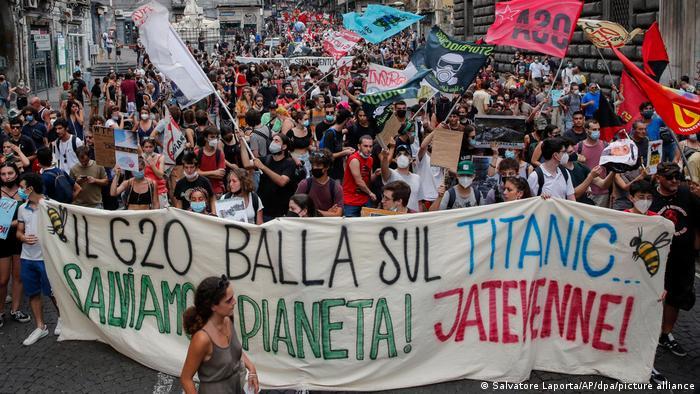 Italien I G20-Treffen in Neapel