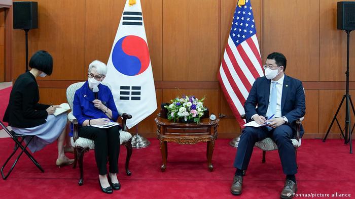 Südkorea Seoul | US-Vizeaußenministerin Wendy Sherman
