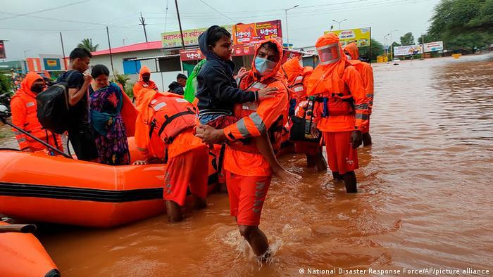Erdrutsche in Indien