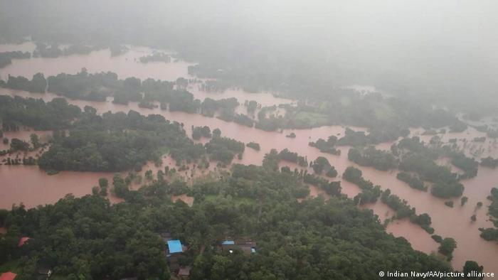 Landslides and floods in India