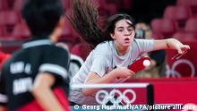 Tokyo 2020 | Tischtennis: Hend Zaza - Liu Jia