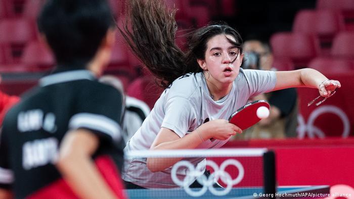 Tokyo 2020   Tischtennis: Hend Zaza - Liu Jia