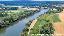 27,06.2019 Die Donau in Niederbayern im Landkreis Kelheim. Der sogenannte Donaulimes soll im Rahmen des bereits bestehenden Welterbes «Die Grenzen des Römischen Reiches» der Unesco aufgenommen werden.