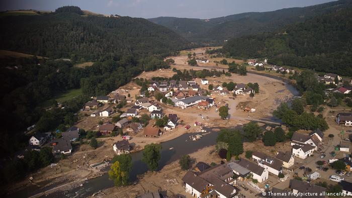 Nach dem Unwetter in Rheinland-Pfalz