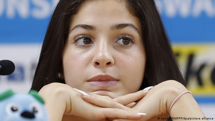 Syrian swimmer Yusra Mardini, a member of the Refugee Olympic Team