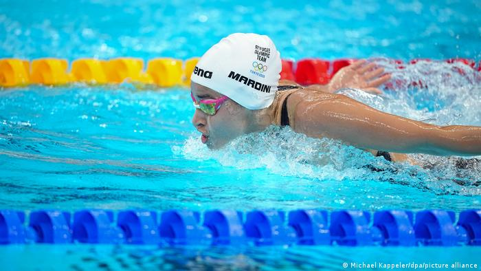 Mardini first competed for the Refugee Olympic Team in Rio five years ago.