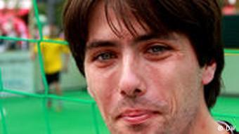 Angelo, a player on a homeless soccer team