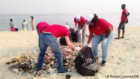 ECO Angola Plastik Umwelt