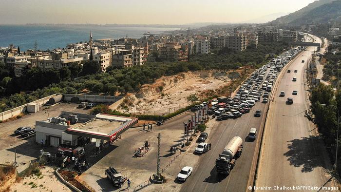 Beirut, Libanon | Benzin-Knappheit