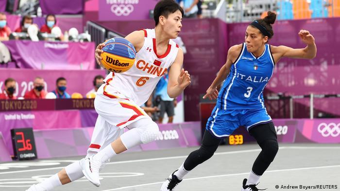 Olympia 2020 Tokio l Basketball 3x3 l China vs Italien Frauen
