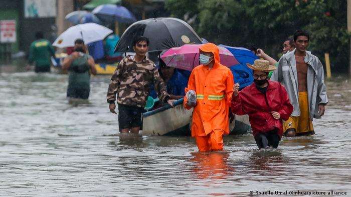 Monsun auf den Philippinen