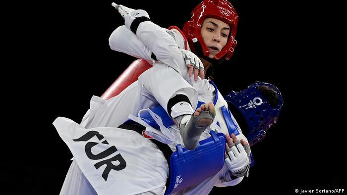Olympia 2020 Tokio l Taekwondo - Kimia Alizadeh Zenoorin vs Hatice Illgun