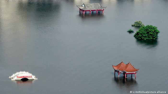 China Überschwemmung in der Provinz Henan