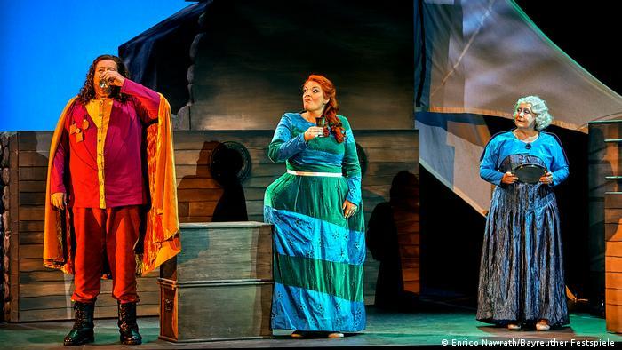 Tristán e Isolde en una función de la temporada 2021 en Bayreuth