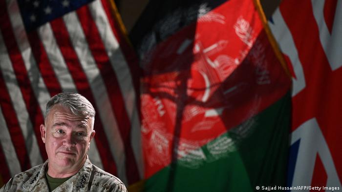 El general Kenneth McKenzie, jefe del Comando Central de Fuerzas Armadas de Estados Unidos (CENTCOM)