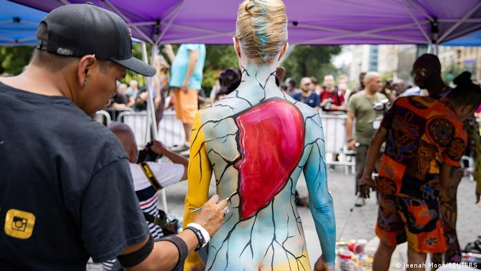 USA New York | Bodypainting Tag