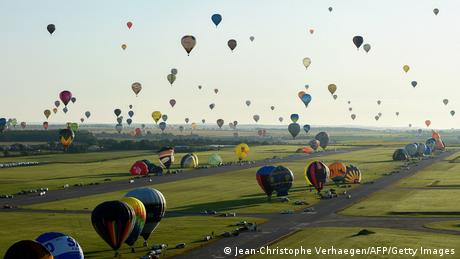 BdTD   Frankreich Hageville   Heißtluftballonfestival