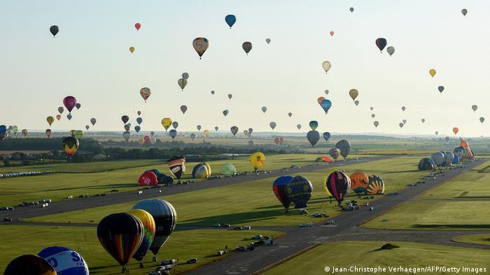 BdTD | Frankreich Hageville | Heißtluftballonfestival