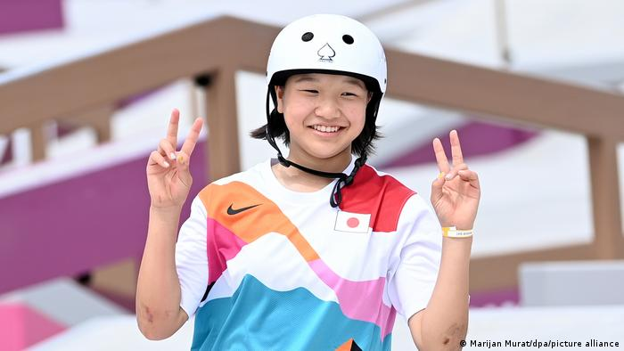 Tokyo 2020 | Skateboard: Momiji Nishiya aus Japan