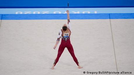 Tokyo 2020: Germany gymnasts protest with full-body leotards