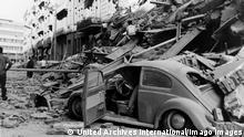 26 JULY 1963 VIEWS OF A SHATTERED CITY, AFTER A CATASTROPHIC EARTHQUAKE IN SKOPJE, MACEDONIA, YUGOSLAVIA., Skopje Macedonia, The Former Yugoslav Republic Of Copyright: Topfoto PUBLICATIONxINxGERxSUIxAUTxONLY UnitedArchivesIPU460950