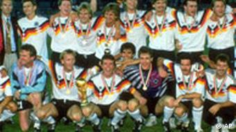 Germany, the 1990 World Champions