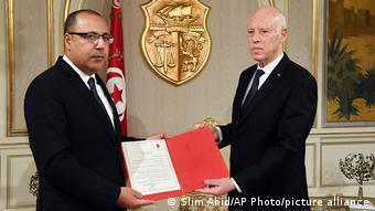 Tunus Cumhurbaşkanı Kays Said, geçen yıl Hişam el Meşişi'ye hükümeti kurma görevi vermişti.