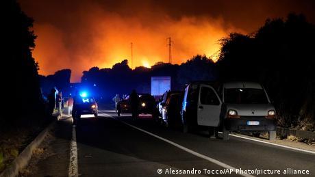 Weltspiegel 26.7.21 | Italien Waldbrände auf Sardinien