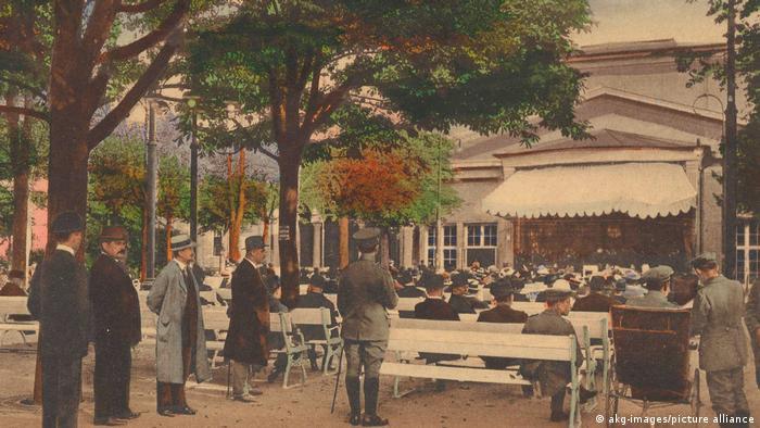 Бад-Киссинген, около 1910 года