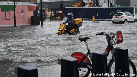 Großbritannien London | Überschwemmungen
