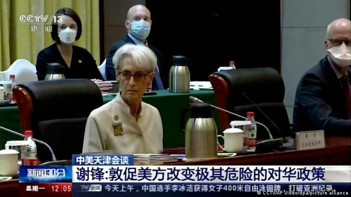 China   Stellvertretende US-Außenministerin Wendy Sherman