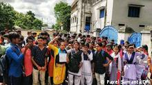 Description: Students are agitating for review of higher secondary result which was announced by mrs mahua das, president of the council. Keywords: higher secondary, result, marksheet, student, agitation, school, council Where it was taken: West Bengal Copyright: Payel Samanta Pic Students' protest on road Pic Student agitation in front of a school Pic Mahua Das, president of hs council