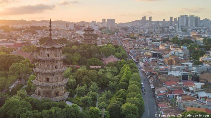 Портове місто Цюаньчжоу, Китай