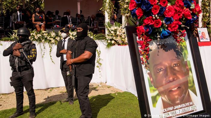 Haiti I Beerdigung von Präsident Jovenel Moïse