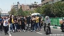 Title: Protest in Tehran heite Schlagwörter: Splidaritäts Protest in Teheran mit Khuzestan, Protest in Iran, Protest in Teheran am 26. Juli Lizenz: frei Qulle: Iran-Emruz https://www.iran-emrooz.net/index.php/news1/more/92337/ via Shir Mohammadi