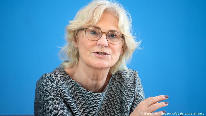 Deutschland Berlin |Christine Lambrecht (SPD), Bundesfamilienministerin