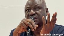 24.7.2021*** Der ehemalige Premierminister von Guinea-Bissau, Aristides Gomes, bei einem Treffen mit der guineischen Gemeinde in Luxemburg