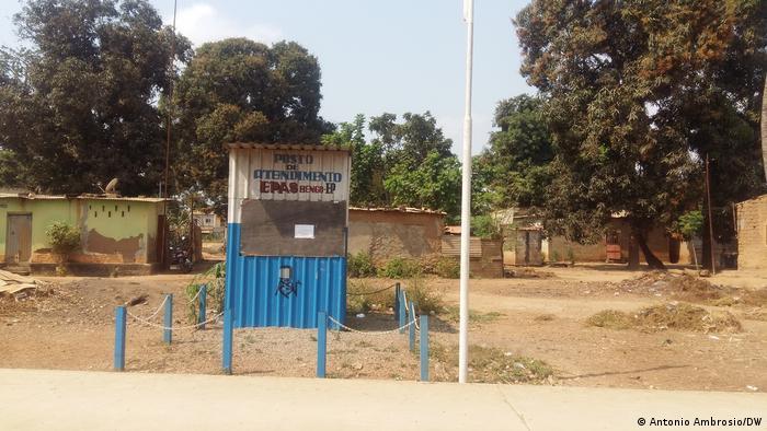 Angola | Wasserversorgungsstation in Bengo