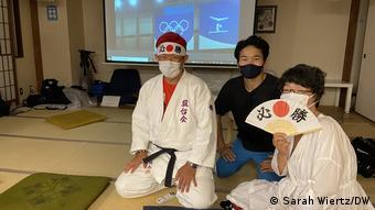 Japan   Kazunori Takishima   Olympia-Fan   Tokio