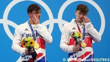 Olympia 2020 Tokio | Syncronspringen 10m Thomas Daley und Matty Lee