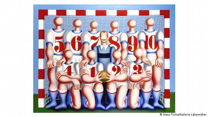 El equipo (Die Mannschaft), obra de Hans Ticha