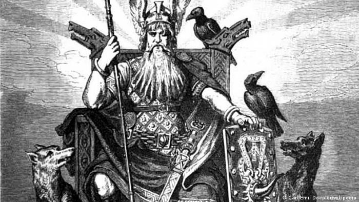 Odin, nordijski otac bogova i bog rata