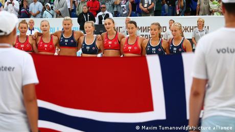 2018 Beach Handball World Championships I Team Norwegen