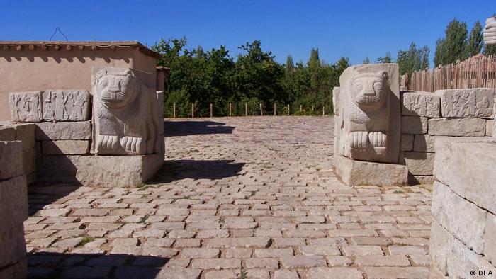 Türkei I Weltkulturerbe Ausgrabungsstätte Arslan Tepe