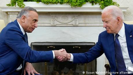 USA I Joe Biden and Mustafa al-Kadhimi